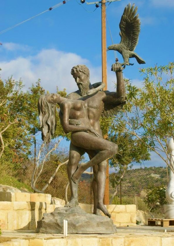 garden sculptures cyprus - bronze sculptures - island designs - chakra gallery cyprus - outdoor sculptures - art
